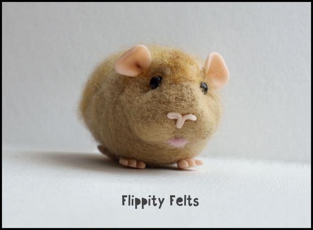 Realistic Guinea Pig by Flippity Felts