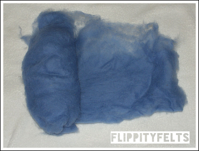 NZ carded batt (sheep fibre)