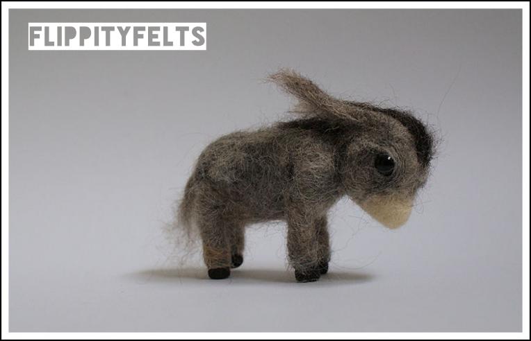 Flippity Felys Tussie the donkey