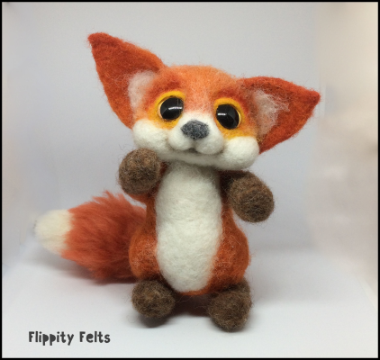 Vintage style Red Fox