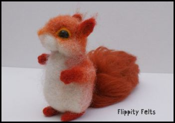 Sweet Red Squirrel