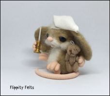 It's beddie-byes for this little mouse