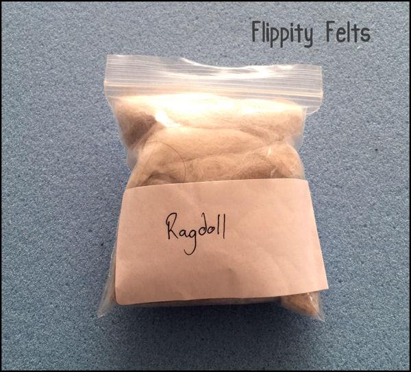 ragdoll cat fur felting 1a