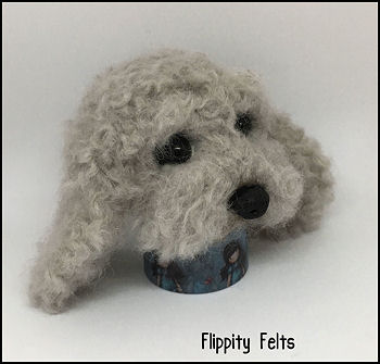 flippity felts cockapoo real felt wool