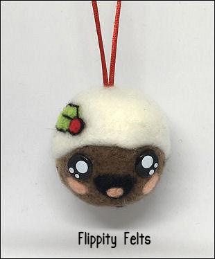Kawaii Christmas Pudding
