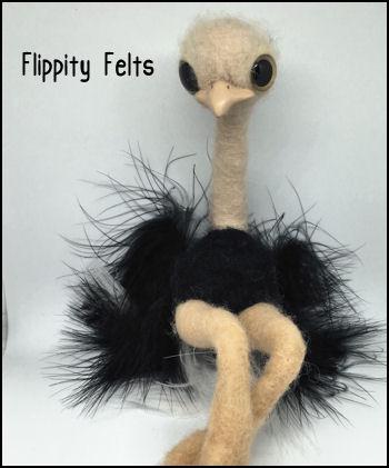 Gloria the Ostrich