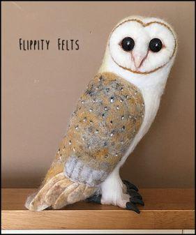 Realistic Barn Owl